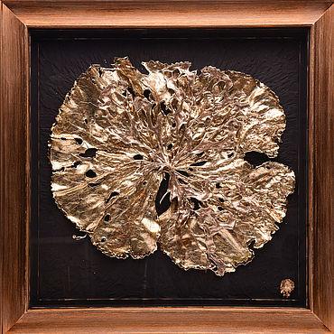 """Картины и панно ручной работы. Ярмарка Мастеров - ручная работа Картины: """"Labrum"""" из серии Золотая Коллекция «VivantArt». Handmade."""