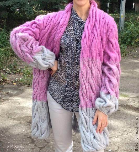 Верхняя одежда ручной работы. Ярмарка Мастеров - ручная работа. Купить Кардиган в стиле Лало Долидзе. Handmade.