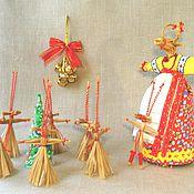 Народные сувениры ручной работы. Ярмарка Мастеров - ручная работа Народная обрядова кукла Коза. Handmade.