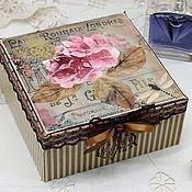 Для дома и интерьера handmade. Livemaster - original item Hortense box retro style Provence vintage. Handmade.