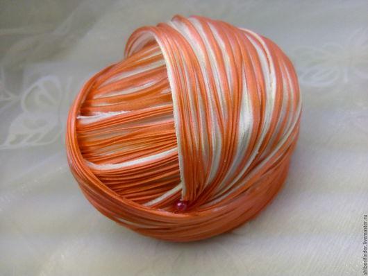 Для украшений ручной работы. Ярмарка Мастеров - ручная работа. Купить Ленты Шибори Silk Ribbons Shibori №87Поцелуй. Handmade.
