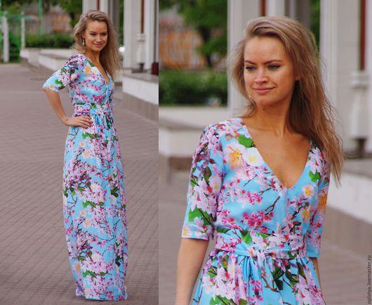 цветочное платье, летнее платье, длинное платье, платье в пол, цветочное длинное платье, платье с рукавом, роскошное платье, красивое платье, повседневное платье, роскошное платье, летнее платье