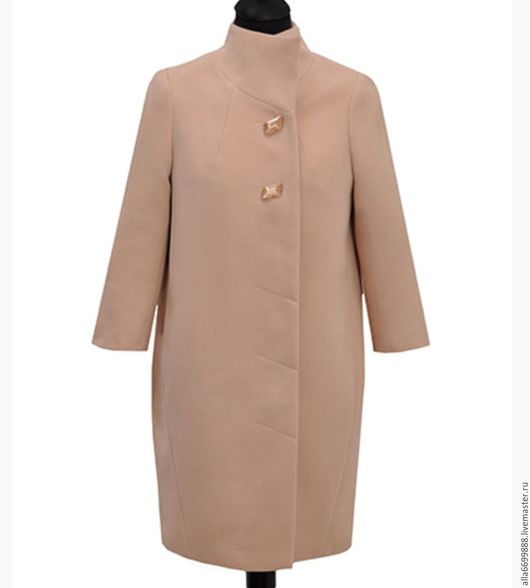 Верхняя одежда ручной работы. Ярмарка Мастеров - ручная работа. Купить Пальто. Handmade. Бежевый, стильное пальто