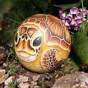 Куклы и игрушки handmade. Livemaster - original item Turtle Turtle Bowl - tumbler music. Handmade.