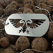 Pendants handmade. Livemaster - original item Badge Of The Imperial Eagle. Handmade.