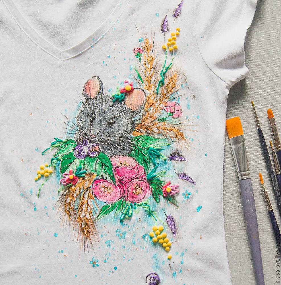 T-shirt Mouse-baby, T-shirts, Tolyatti,  Фото №1