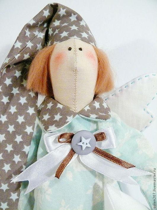 Куклы Тильды ручной работы. Ярмарка Мастеров - ручная работа. Купить Сплюшка в пастельных тонах. Handmade. Мятный, игрушка в подарок
