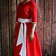 Платья ручной работы. Ярмарка Мастеров - ручная работа. Купить Городское платье. Handmade. Разноцветный, джинса-стрейч, джинса