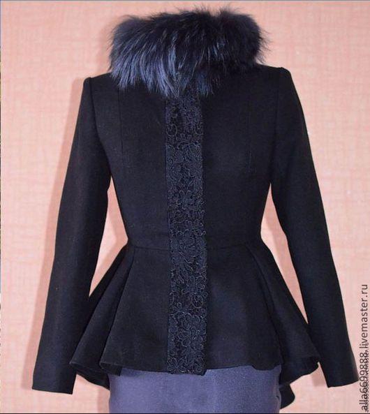Верхняя одежда ручной работы. Ярмарка Мастеров - ручная работа. Купить Пальто Баска. Handmade. Пальто, драп