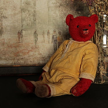 Куклы и игрушки ручной работы. Ярмарка Мастеров - ручная работа Мишки Тедди: Альфонсо. Handmade.