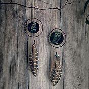 Фен-шуй и эзотерика ручной работы. Ярмарка Мастеров - ручная работа Ловец Снов с совушкой. Handmade.