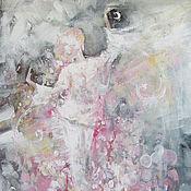 Картины и панно ручной работы. Ярмарка Мастеров - ручная работа Танцующая в пижаме. Handmade.