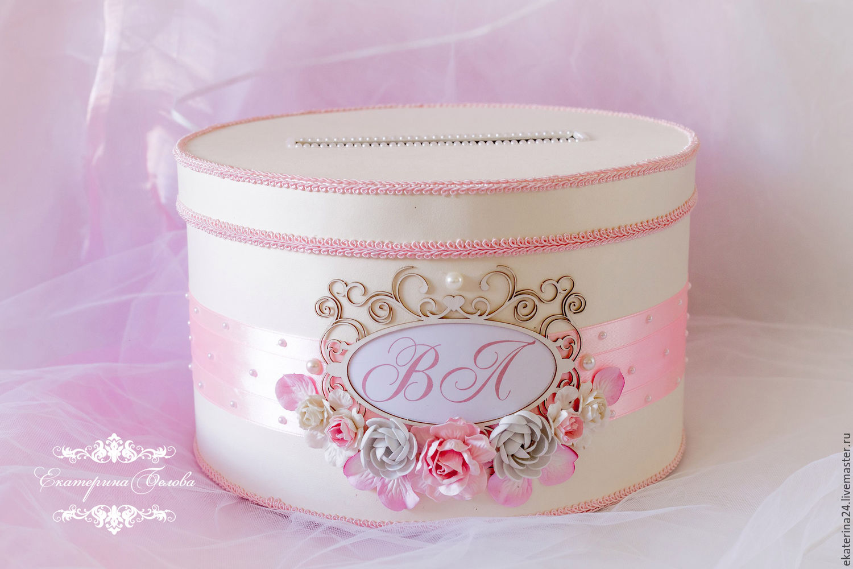 Как сделать круглую коробку на свадьбу для денег