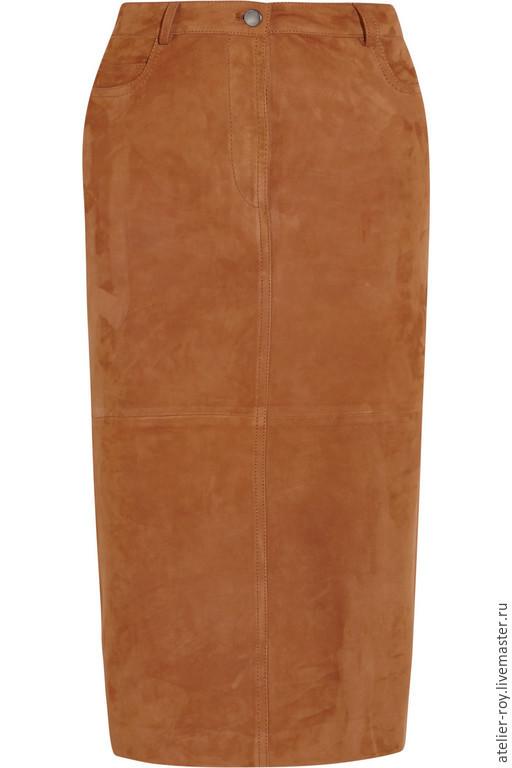 Юбки ручной работы. Ярмарка Мастеров - ручная работа. Купить Кожаная юбка BomberMen Модель №7. Handmade. Рыжий