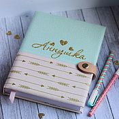 Канцелярские товары handmade. Livemaster - original item Babybook nominal. Handmade.