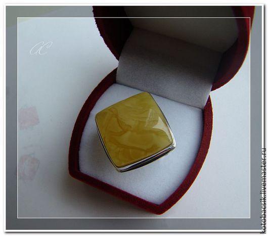 """Кольца ручной работы. Ярмарка Мастеров - ручная работа. Купить Кольцо """"Элегия"""". Handmade. Желтый, серебро 925 пробы"""