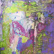 """Картины и панно ручной работы. Ярмарка Мастеров - ручная работа """"Пробуждение"""" чудесная картина. Авторская живопись.. Handmade."""