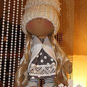 Куклы и игрушки ручной работы. Ярмарка Мастеров - ручная работа Теплая куколка. Handmade.
