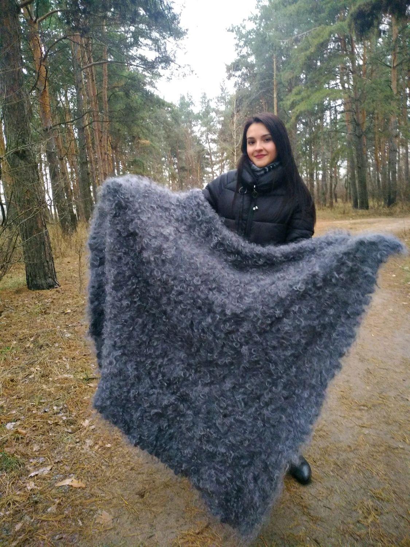 Down shawl ' winter beauty', Shawls, Voronezh,  Фото №1