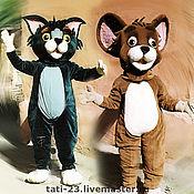 Куклы и игрушки handmade. Livemaster - original item Tom and Jerry .Puppets