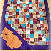Для дома и интерьера ручной работы. Ярмарка Мастеров - ручная работа Квилт, котики, пэчворк, лоскутное одеяло. Handmade.