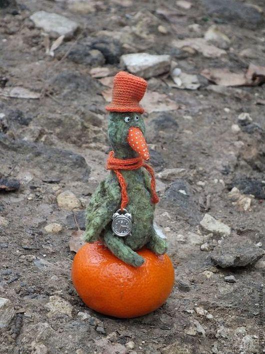 Мишки Тедди ручной работы. Ярмарка Мастеров - ручная работа. Купить Оранжевое настроение. Handmade. Оранжевый, подарок на любой случай