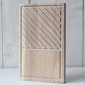 Посуда handmade. Livemaster - original item Oak Board for steak, Burger and snacks. white. Handmade.