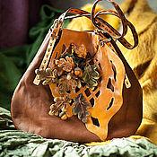"""Сумки и аксессуары ручной работы. Ярмарка Мастеров - ручная работа Сумка """" Рисует осень..."""". Handmade."""