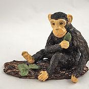 Для дома и интерьера handmade. Livemaster - original item figurine obezyanka. Handmade.