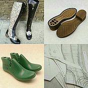 Материалы для творчества handmade. Livemaster - original item K151 set for making shoes (WOMEN`s BOOTS). Handmade.