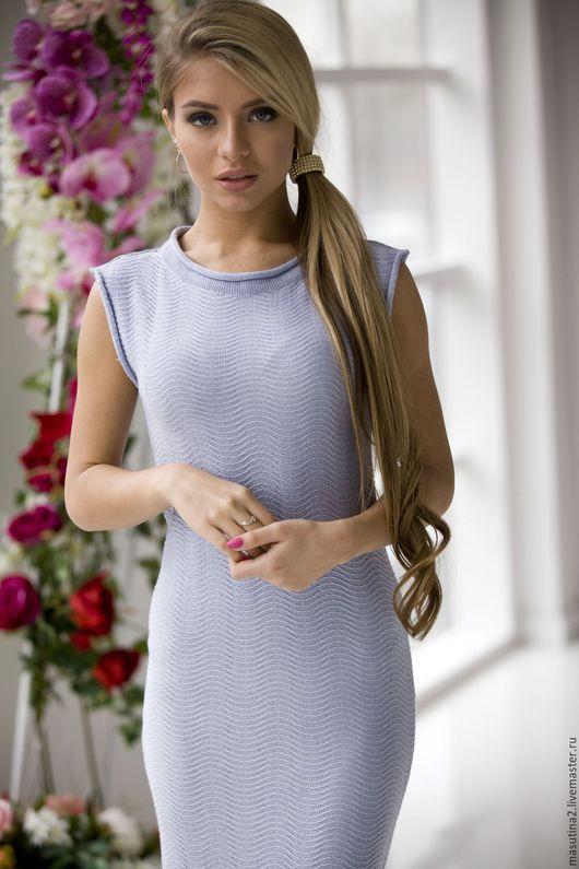 """Платья ручной работы. Ярмарка Мастеров - ручная работа. Купить Платье """"Delicate"""". Handmade. Серый, серое платье"""