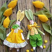 Куклы и игрушки ручной работы. Ярмарка Мастеров - ручная работа Зайцы,заяц тильда,тильда заяц,кролик тильда.. Handmade.
