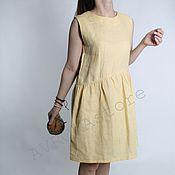 """Одежда ручной работы. Ярмарка Мастеров - ручная работа Хлопковое платье """"SUNSHINE"""". Handmade."""