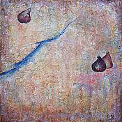 """Картины и панно ручной работы. Ярмарка Мастеров - ручная работа Картина маслом """"До и после"""". Handmade."""