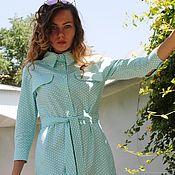 Одежда handmade. Livemaster - original item Dress shirt