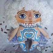 Куклы и пупсы ручной работы. Ярмарка Мастеров - ручная работа Кукла Ангел мечты авторская из грунтованного текстиля. Handmade.