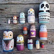 Куклы и игрушки ручной работы. Ярмарка Мастеров - ручная работа Матрешки ( пример работ). Handmade.