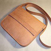 Сумки и аксессуары handmade. Livemaster - original item Small women`s handbag genuine leather. Creme Brulee.. Handmade.