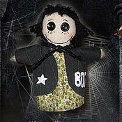 Куклы и игрушки ручной работы. Ярмарка Мастеров - ручная работа Текстильная кукла Страшилка Бу. Handmade.