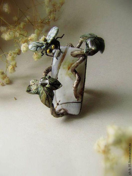 """Кольца ручной работы. Ярмарка Мастеров - ручная работа. Купить Кольцо """"Тот, кто ворует росу."""". Handmade."""