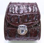 Сумки и аксессуары handmade. Livemaster - original item Bag crocodile leather IMA0640K3. Handmade.