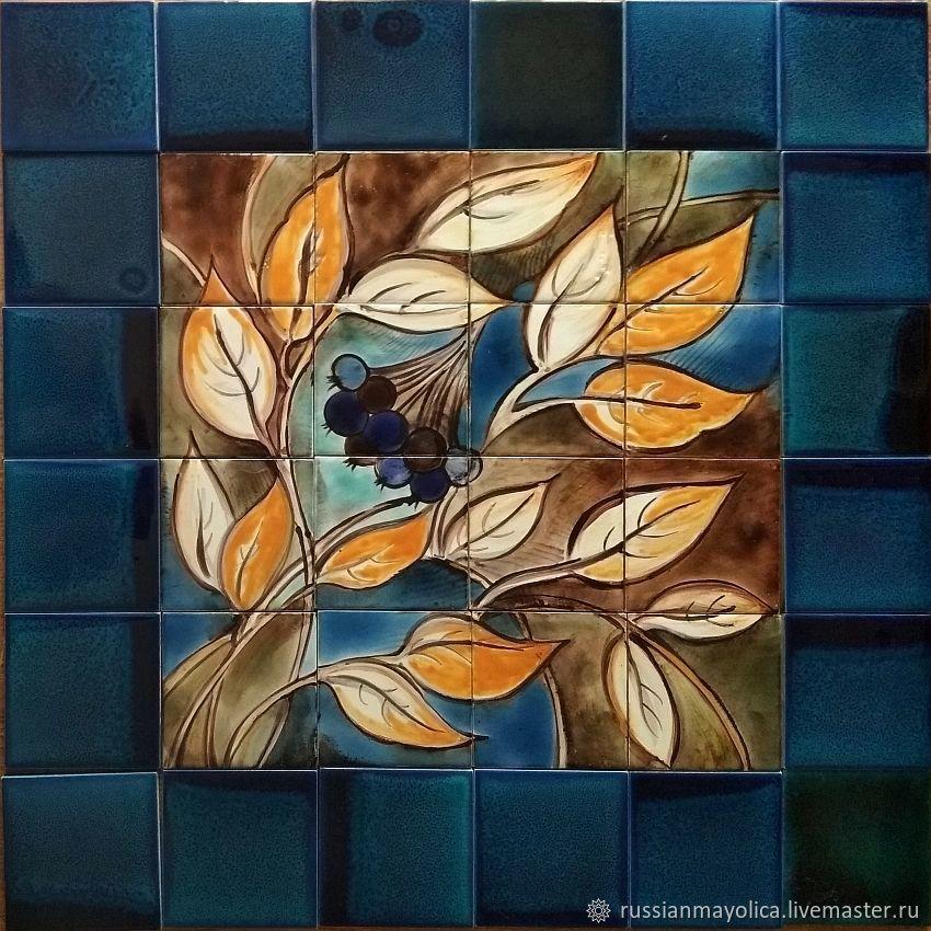 Фасадные панно Черноплодная рябина, Картины, Москва,  Фото №1