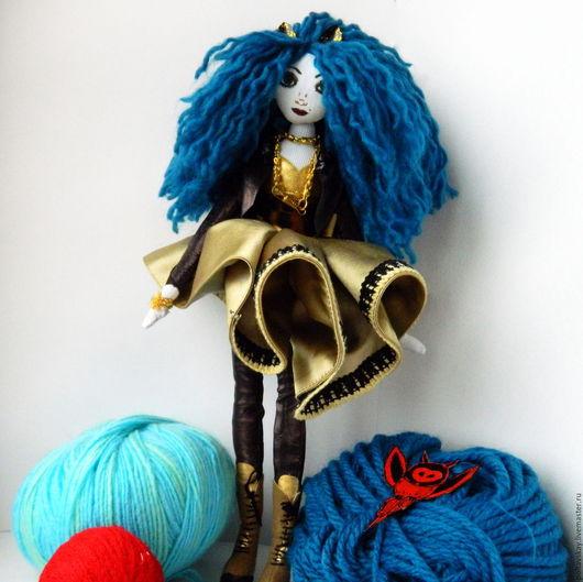 Текстильная кукла Ванда