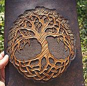 Картины и панно handmade. Livemaster - original item Leather painting