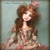 Куклы и игрушки ручной работы. Ярмарка Мастеров - ручная работа По мотивам работы Адэль и любимая кукла. Handmade.