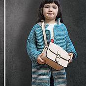 """Одежда ручной работы. Ярмарка Мастеров - ручная работа Пальто оверсайз """"Стильная малышка"""". Handmade."""