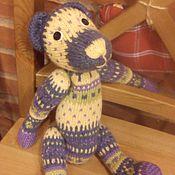 """Куклы и игрушки ручной работы. Ярмарка Мастеров - ручная работа жаккардовый мишка """"Олаф"""". Handmade."""