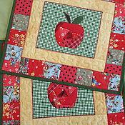 """Для дома и интерьера ручной работы. Ярмарка Мастеров - ручная работа салфетки """"Яблоки"""". Handmade."""