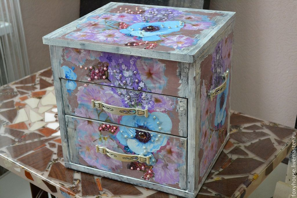 Мебель своими руками красками 434