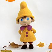 Куклы и игрушки ручной работы. Ярмарка Мастеров - ручная работа Гномик Вася, кукла войлочная. Handmade.